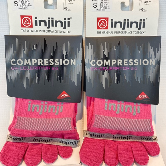 injinji Compression Ex-Celerator 2.0 The Original Performance Toesocks Size S